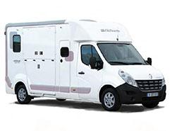Camion VL - Modèle DURAS version 3 avec option porte latérale accès cabine