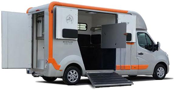 Modèle présenté : DURAS Elite avec option porte latérale accès cabine
