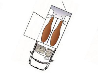 Camion VL version 2 : STALLE + GRANDE SELLERIE